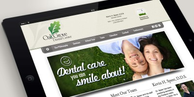 Oak Grove Dental Center website
