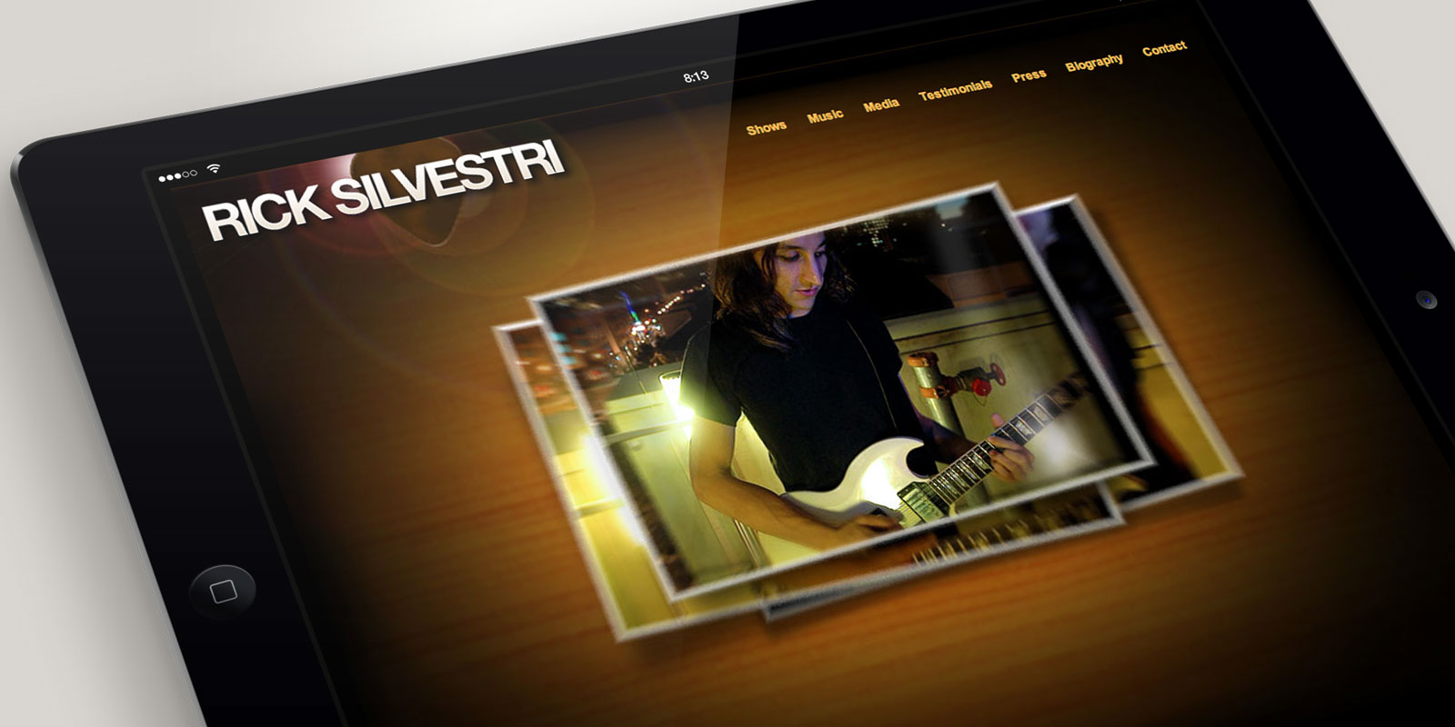 Rick Silvestri website