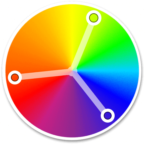 Triad Colors Are Three Equidistant Hues On The Color Wheel When Used Together They Create A Colorful And Balanced Scheme