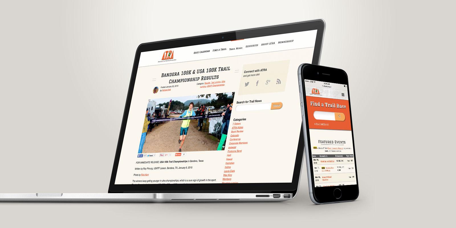 American Trail Running Association website
