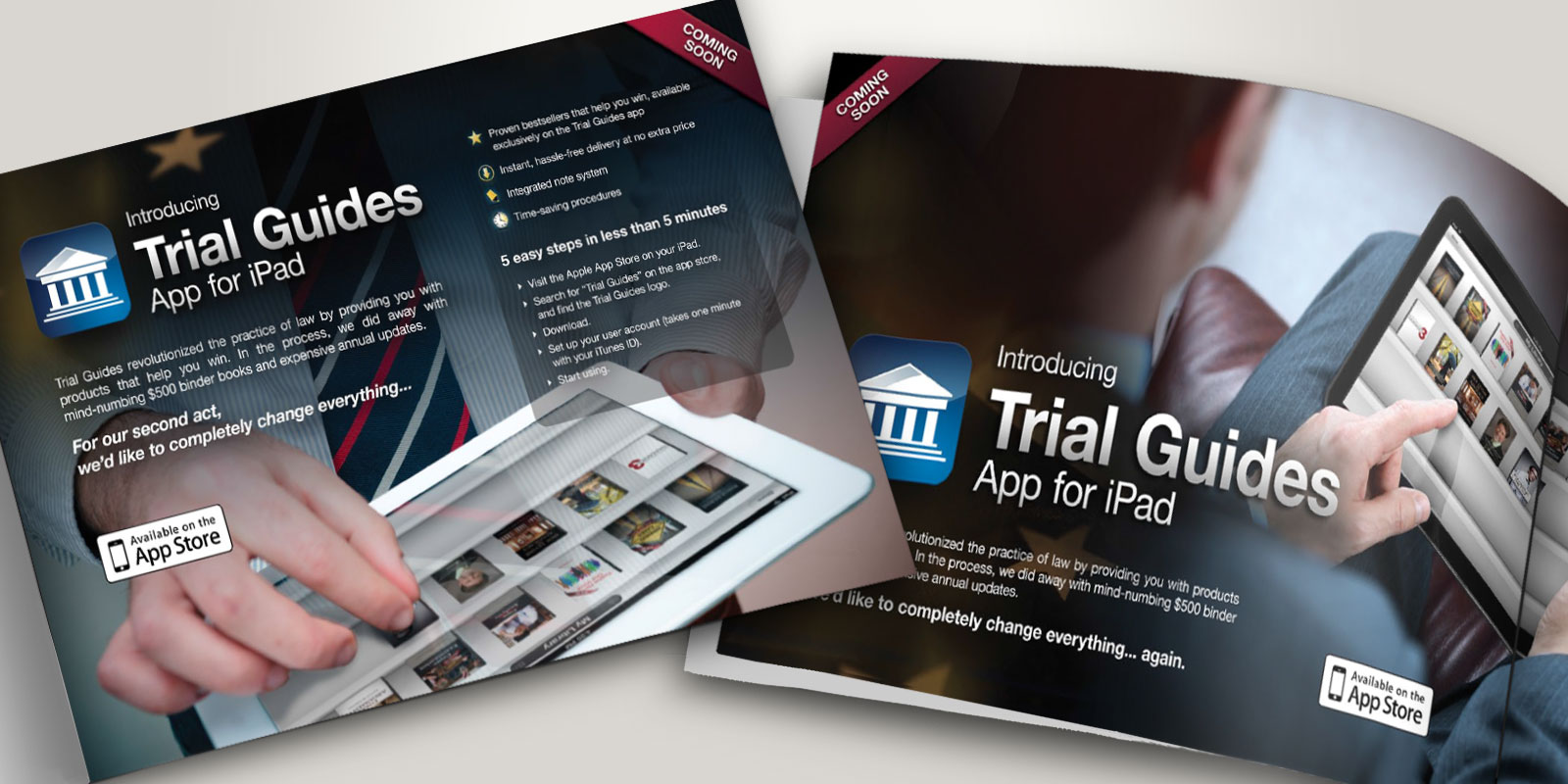 Trial Guides advertisements