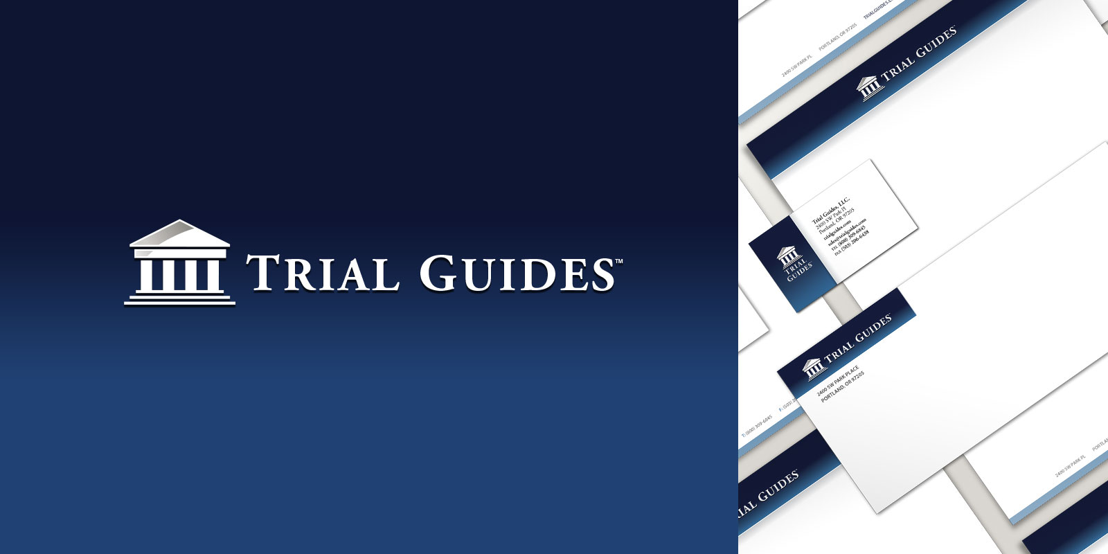 Trial Guides branding